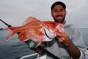 bight redfish nannygai fishing south australia jamie crawford