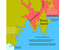 Tasmania rock lobster season changes