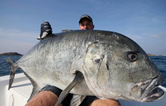 giant trevally get fishing