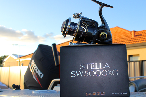 stella 5000 reel on boat