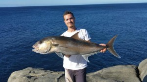 Nathan Brown – Albany land based samsonfish fishing