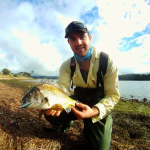 bream fishing tasmania