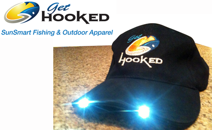 LED fishing cap