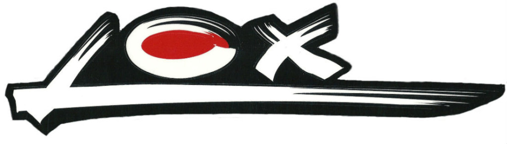 Lox Fishing rods logo