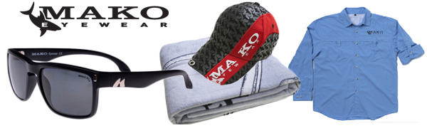 mako eyewear sunglasses fishing tournament prize pack