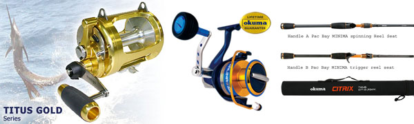 okuma fishing australia