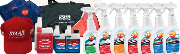 trico fishing tournament prize for sta-bil abd 303 protectants