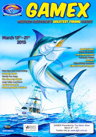 gamex 2015 fishing comp exmouth wa