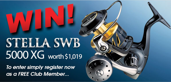 win a shimano stella fishing reel free giveaway