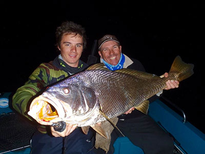 black jewfish qld coby and leith pascoe