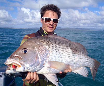 fingermark golden snapper qld_coby pasco