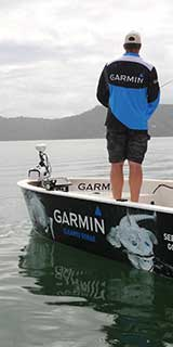 Garmin marine fishing tournament banner