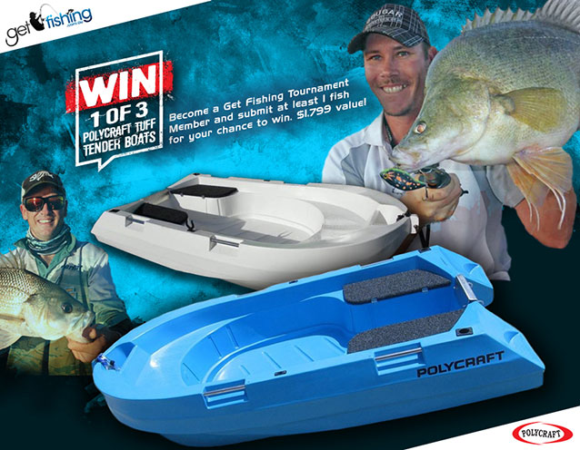 GetFishing Win PolyCraft new with anglers