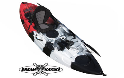 Dream Kayaks Dream Catcher 3G Fishing Kayak Tweed