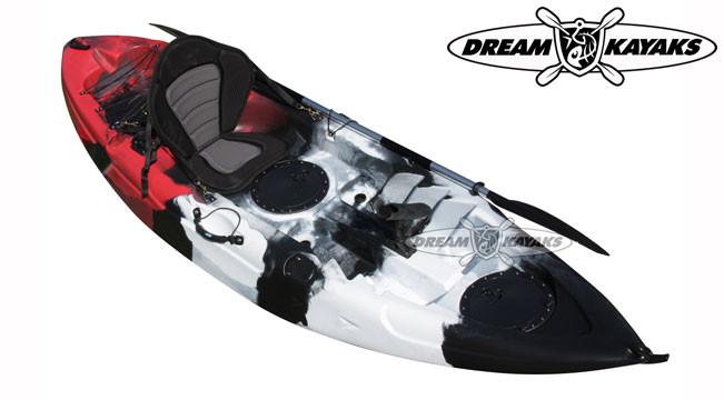 Dream Kayaks Dream Catcher 3 killer camo Fishing Kayak