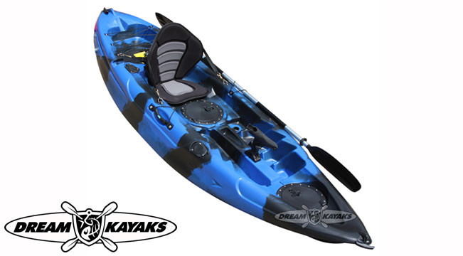 Dream Kayaks Dream Catcher 3 night sea camo Fishing Kayak