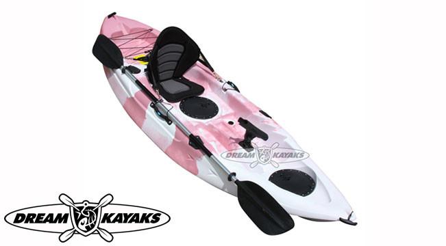 Dream Kayaks Dream Catcher 3 pink camo Fishing Kayak