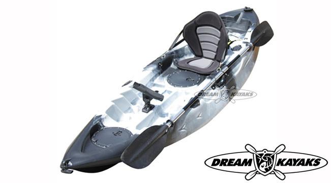 Dream Kayaks Dream Catcher 3 urban camo Fishing Kayak