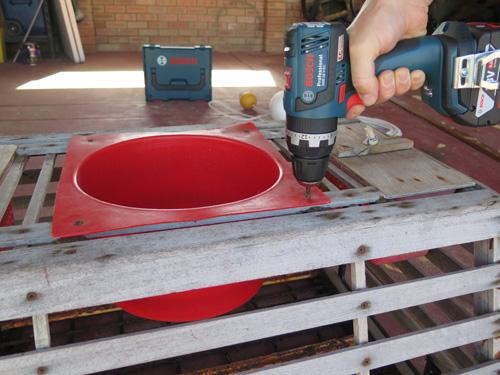 cray pot bosch hammer drill