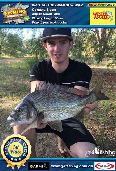 Bream-38cm-Cowan-Wise