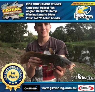 Ugliest Fish 80cm Benjamin Kemp Get Hooked $69.95 t-shirt hoodie
