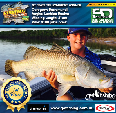 Barramundi 81cm Lachlan Buxton Shane Doevy Wind Ons $100 prize pack