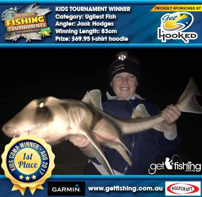 Ugliest Fish 83cm Jack Hodges Get Hooked $69.95 t-shirt hoodie