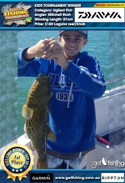 Ugliest Fish 87cm Mitchell Rush Daiwa $160 Laguna reel/knob
