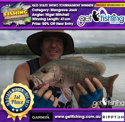 Mangrove Jack 41cm Nigel Mitchell Get Fishing 50% Off New Entry