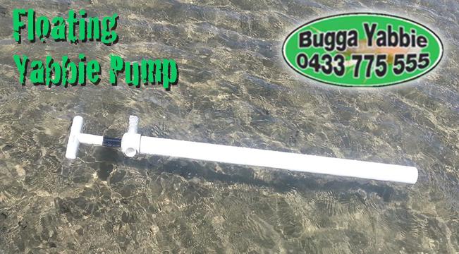 bugga yabbie floating yabbie nipper pump