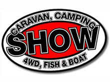 Orana Caravan and Camping 4WD Fish and Boat Show 2014 logo