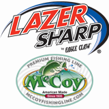 Eagle Claw hooks McCoy braid lines web banner