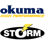 Okuma & Storm fishing web banner