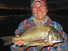 bream fishing nsw australia jo starling