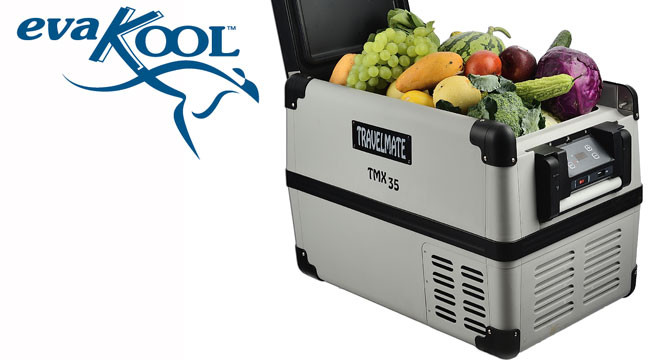 Evakool TravelMate 12 volt fridge freezer