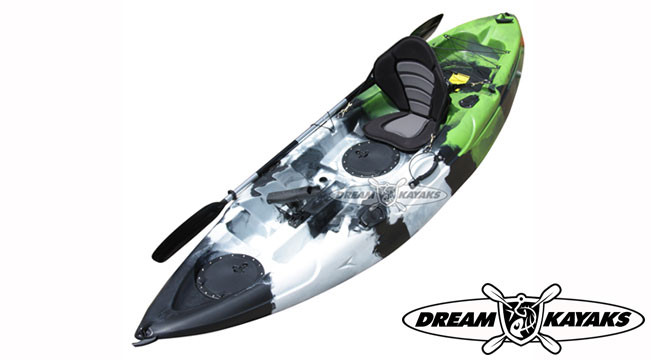 Dream Kayaks Dream Catcher 3 seagrass camo Fishing Kayak