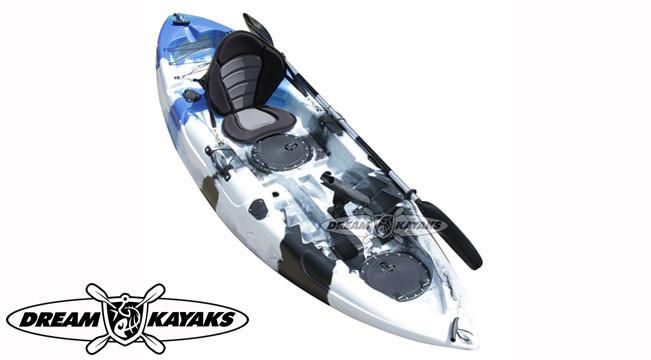 Dream Kayaks Dream Catcher 3 thunder camo Fishing Kayak