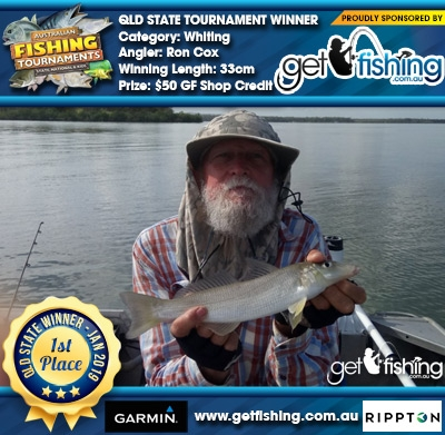 Whiting 33cm Ron Cox Get Fishing $50 GF Shop Credit